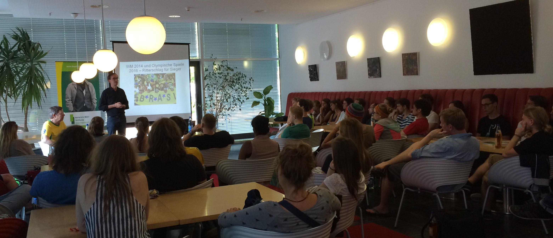 Veranstaltung an der UNI Erfurt