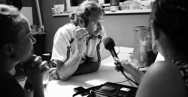 Andrew Aris im Interview mit Radio Frei