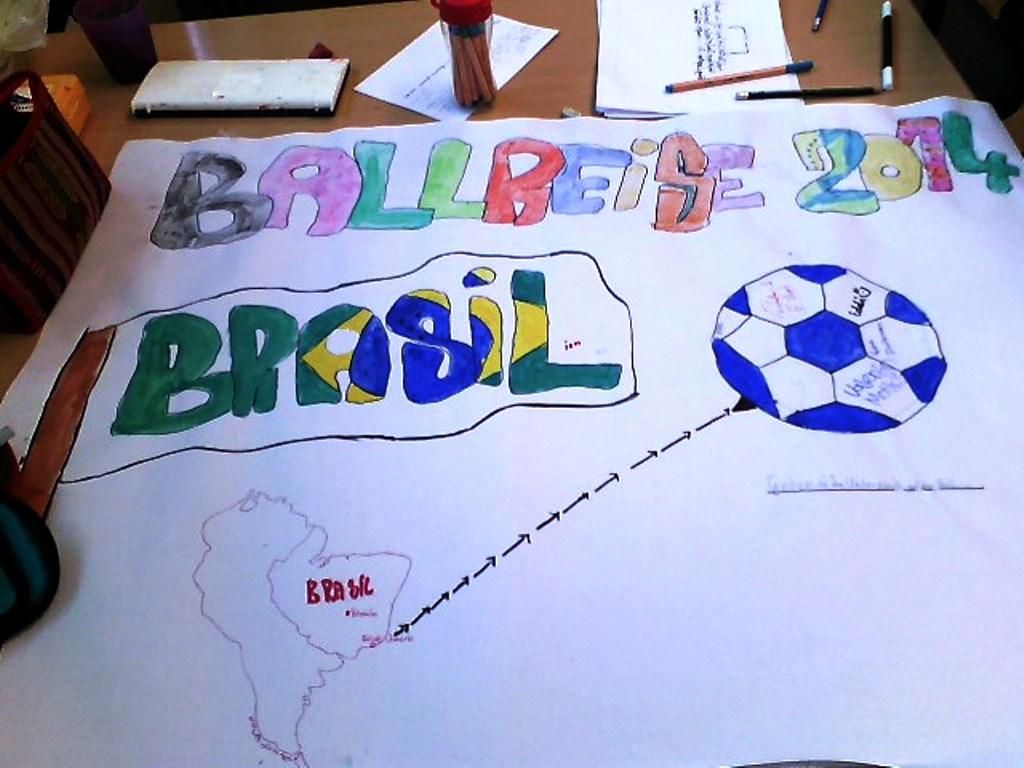 Donnerstag: Themenschwerpunkt Ballreise 2014 nach Brasilien. Foto: SoF