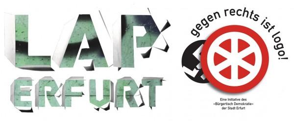 Spirit of Welcome wird unterstützt vom LAP Erfurt