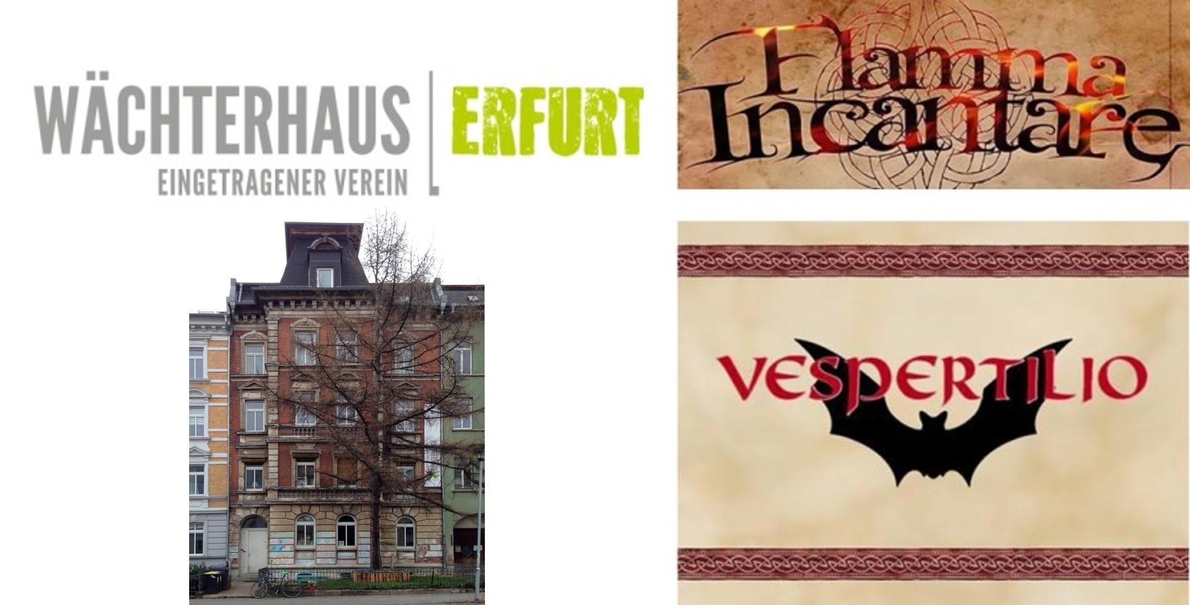 Flamma-Incantare, Vespertilio, Wächterhaus, Erfurt, Lange Nacht der Hausmusik