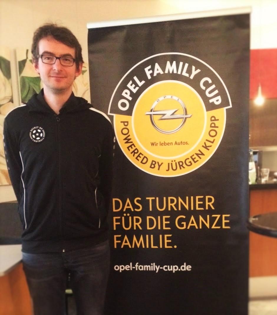 FairPlay-Botschafter Sven für Spirit of Football