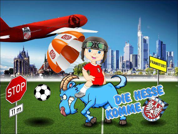 Steigerwald Fan Kids im Steigerwaldstadion Erfurt gegen Frankfurt