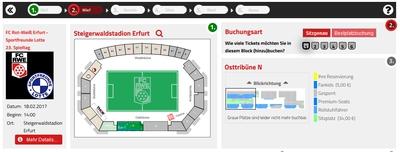 Ticket RWE Lotte