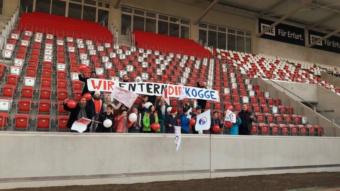 FairPlay-Fan-Workshop im Steigerwaldstadion