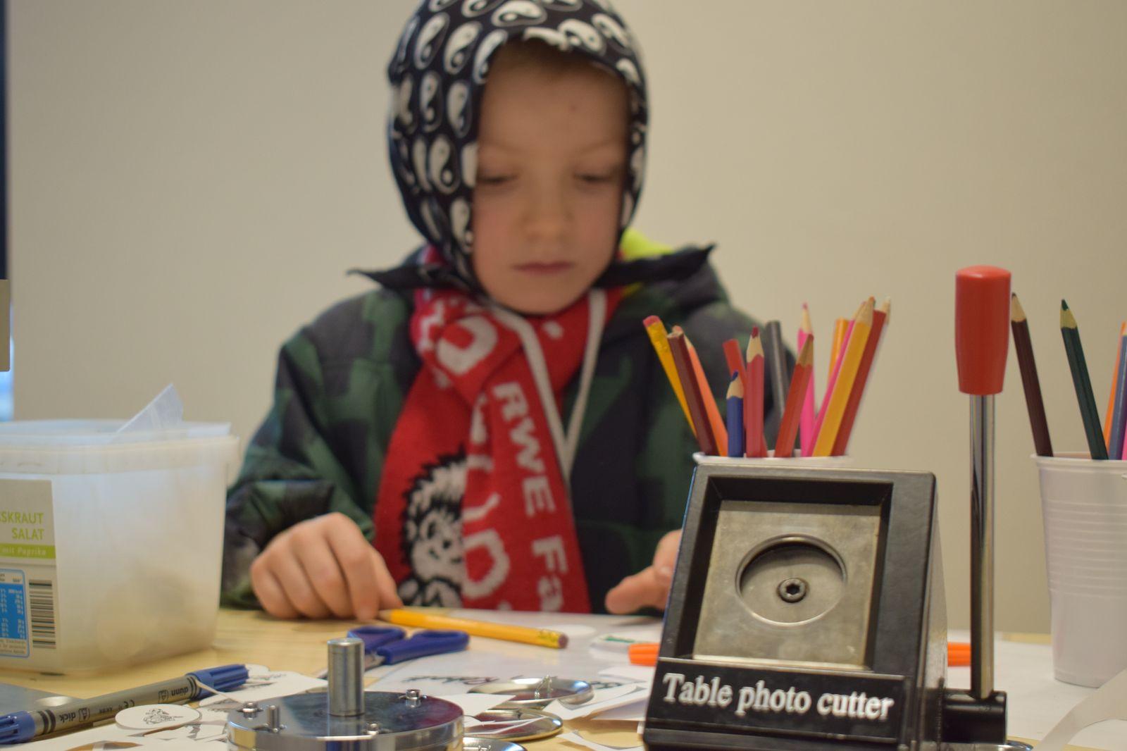 Kreative Köpfe können sich bei den Steigerwald Fan Kids ausleben