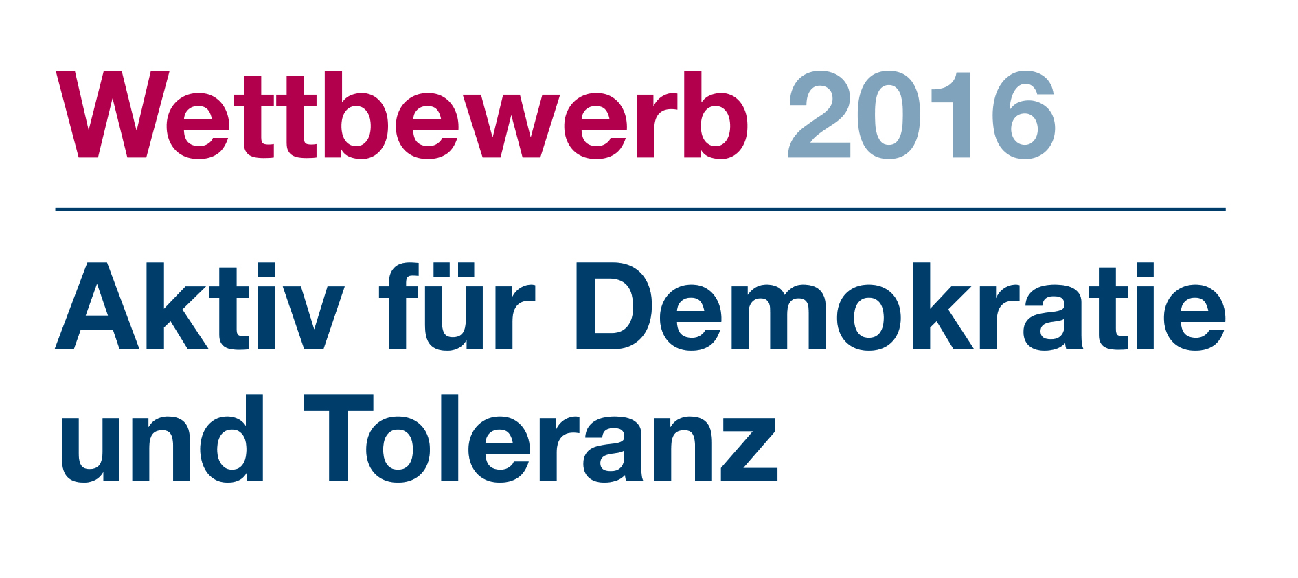 Aktiv für Demokratie und Toleranz