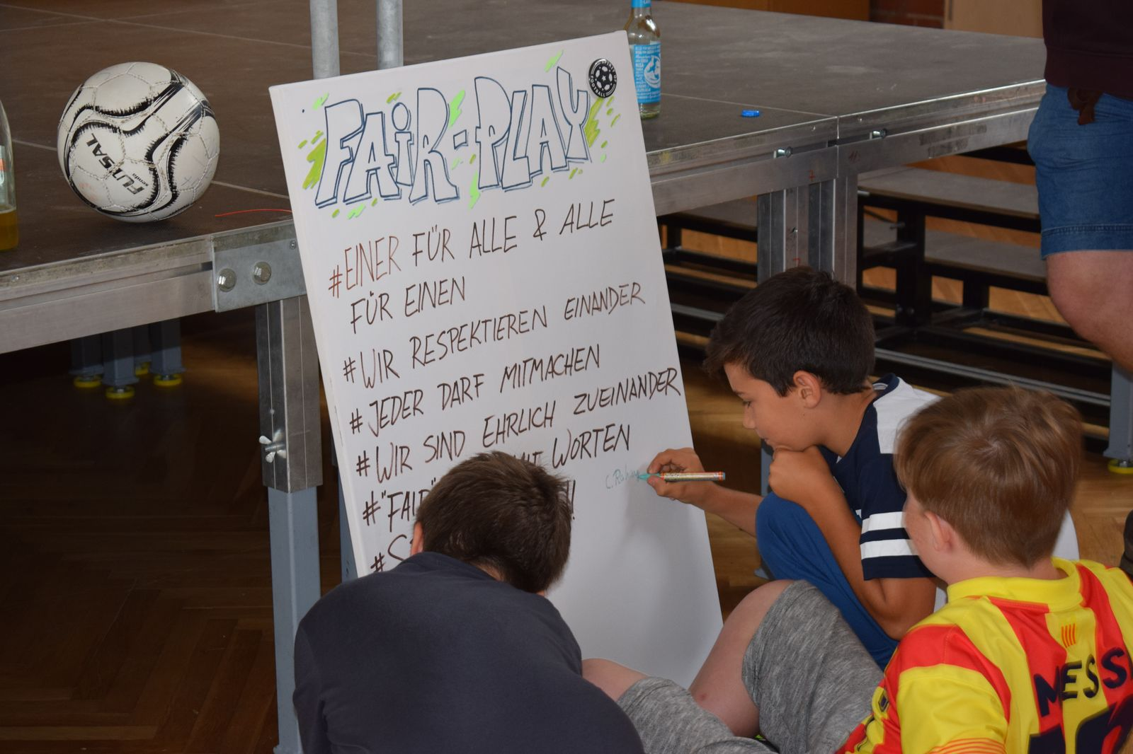 FairPlay?! an der Regelschule Bad Tennstedt