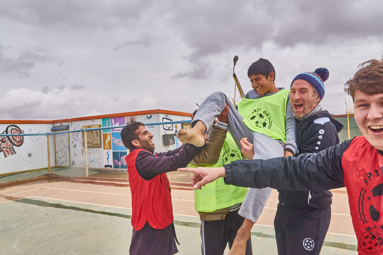 Goal celebration is integration