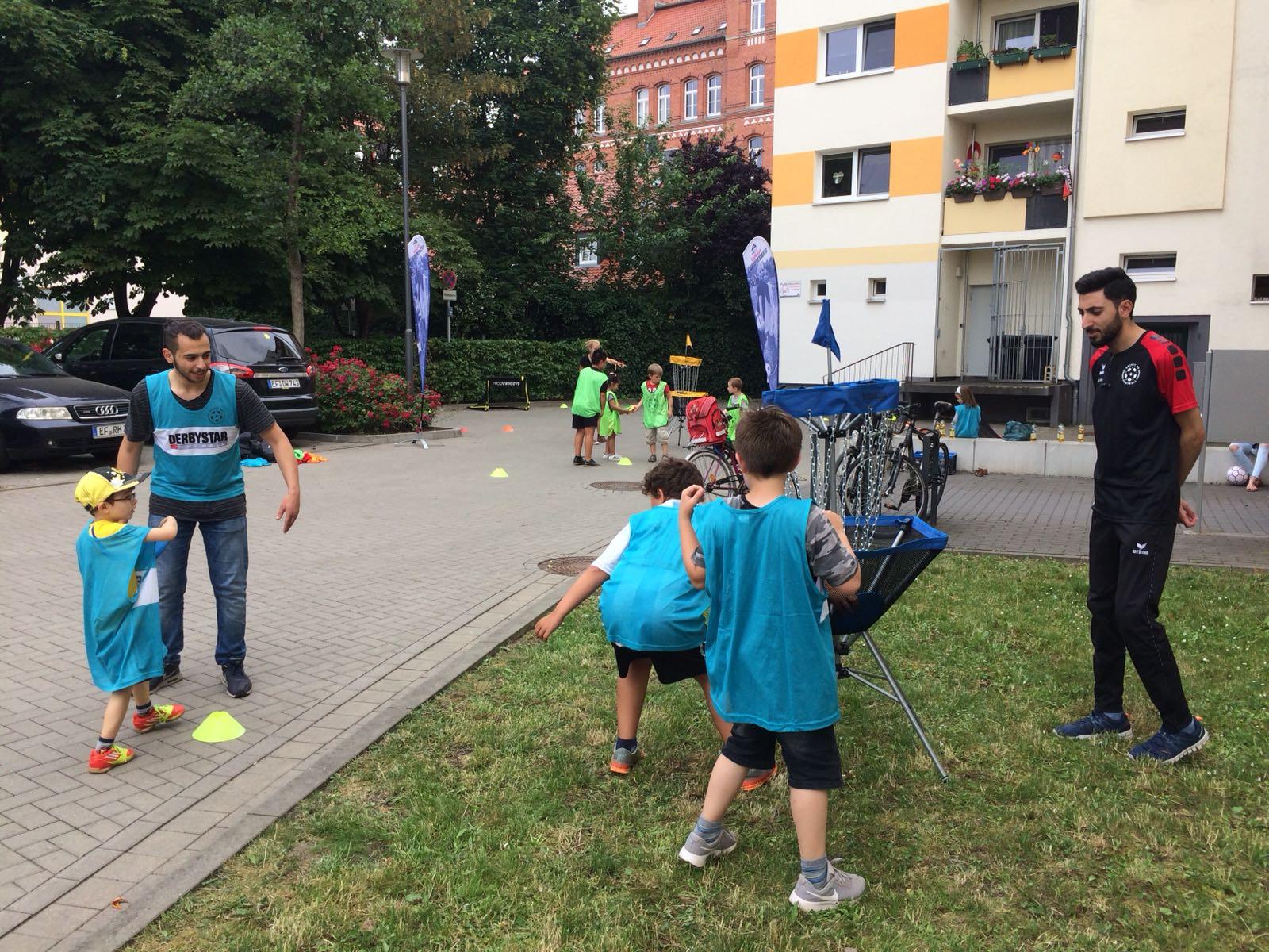 FairPlay-Aktion am Huttenplatz