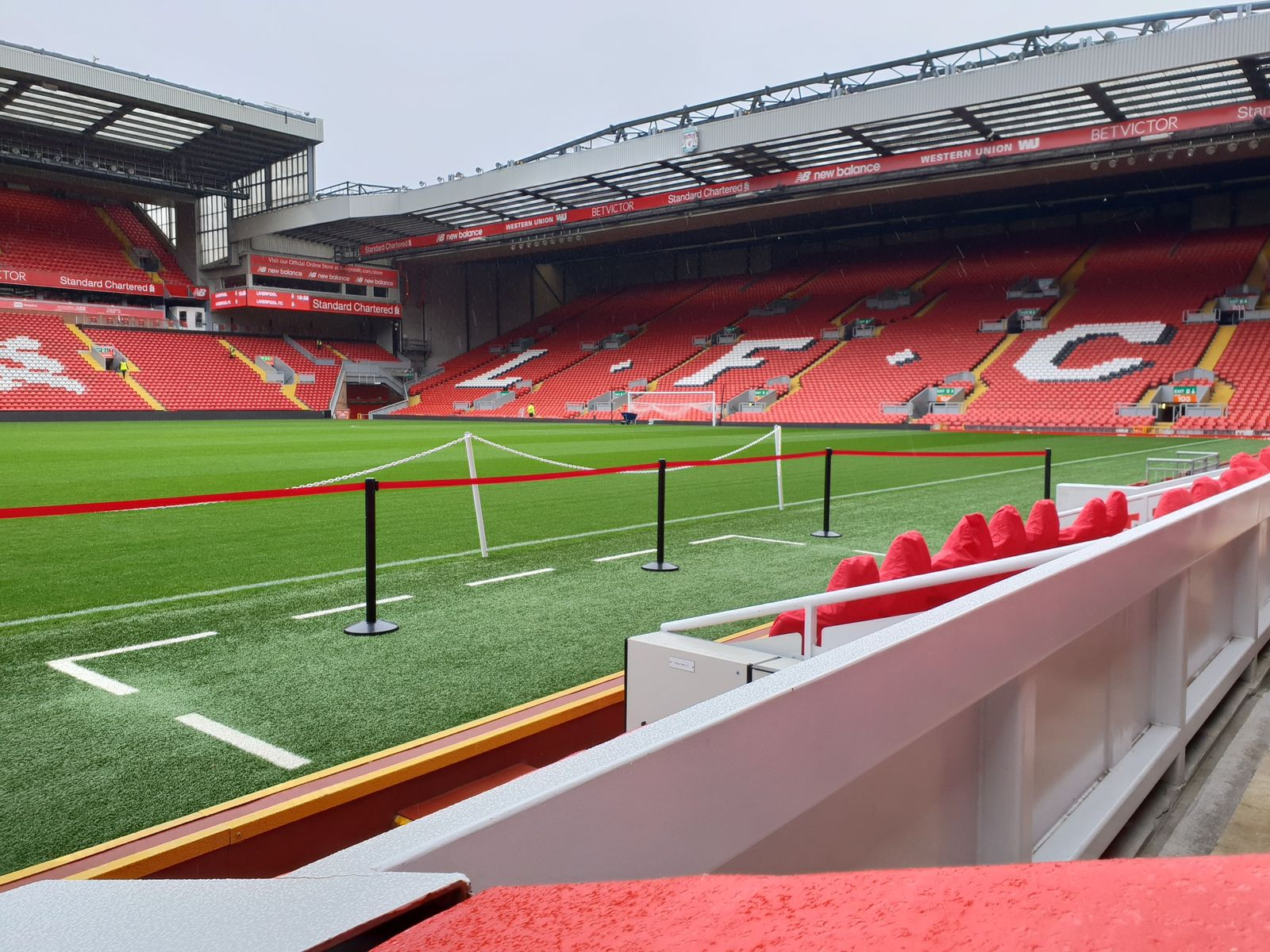 The Ball in Anfield