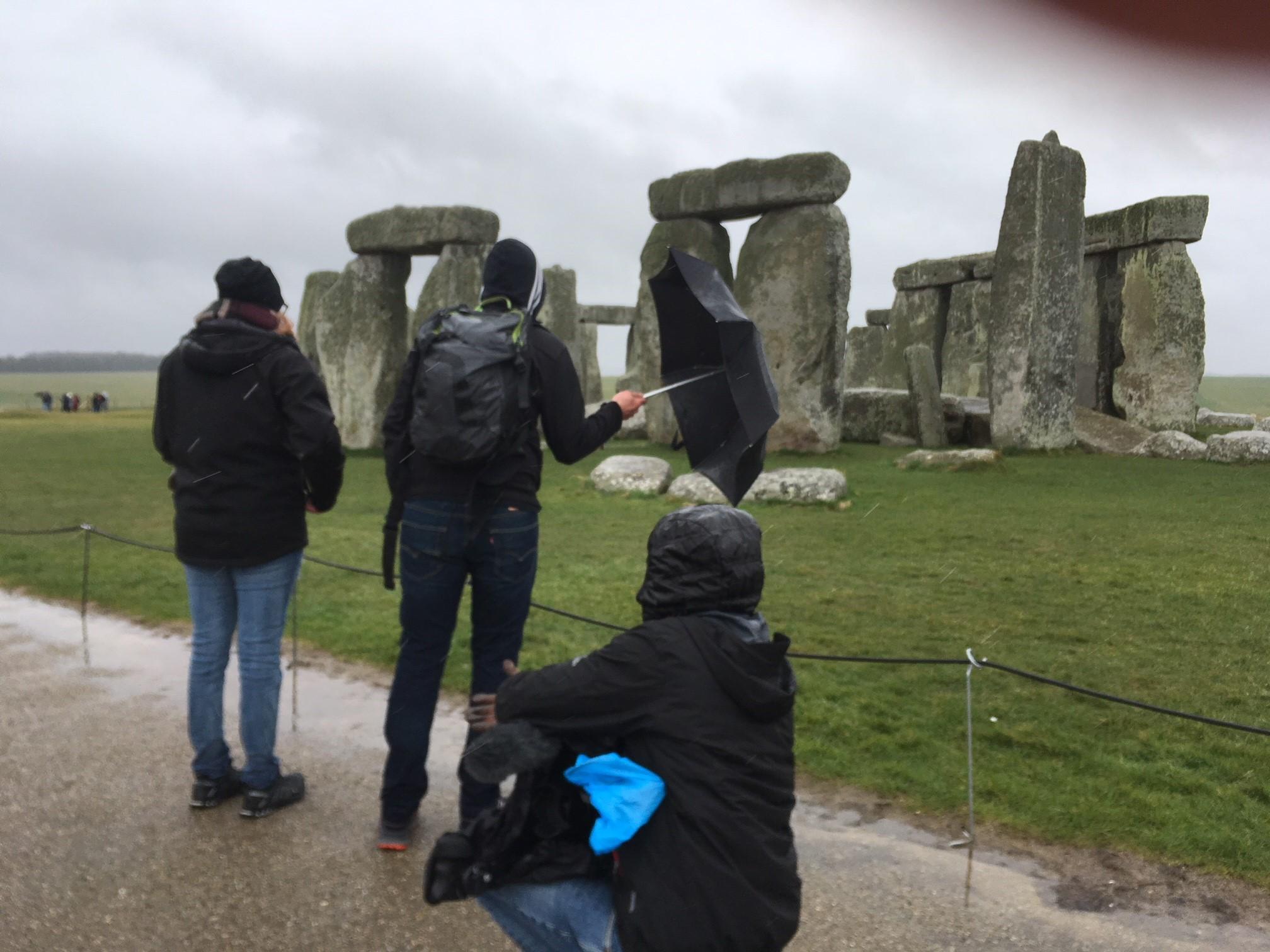 The Ball in Stonehenge