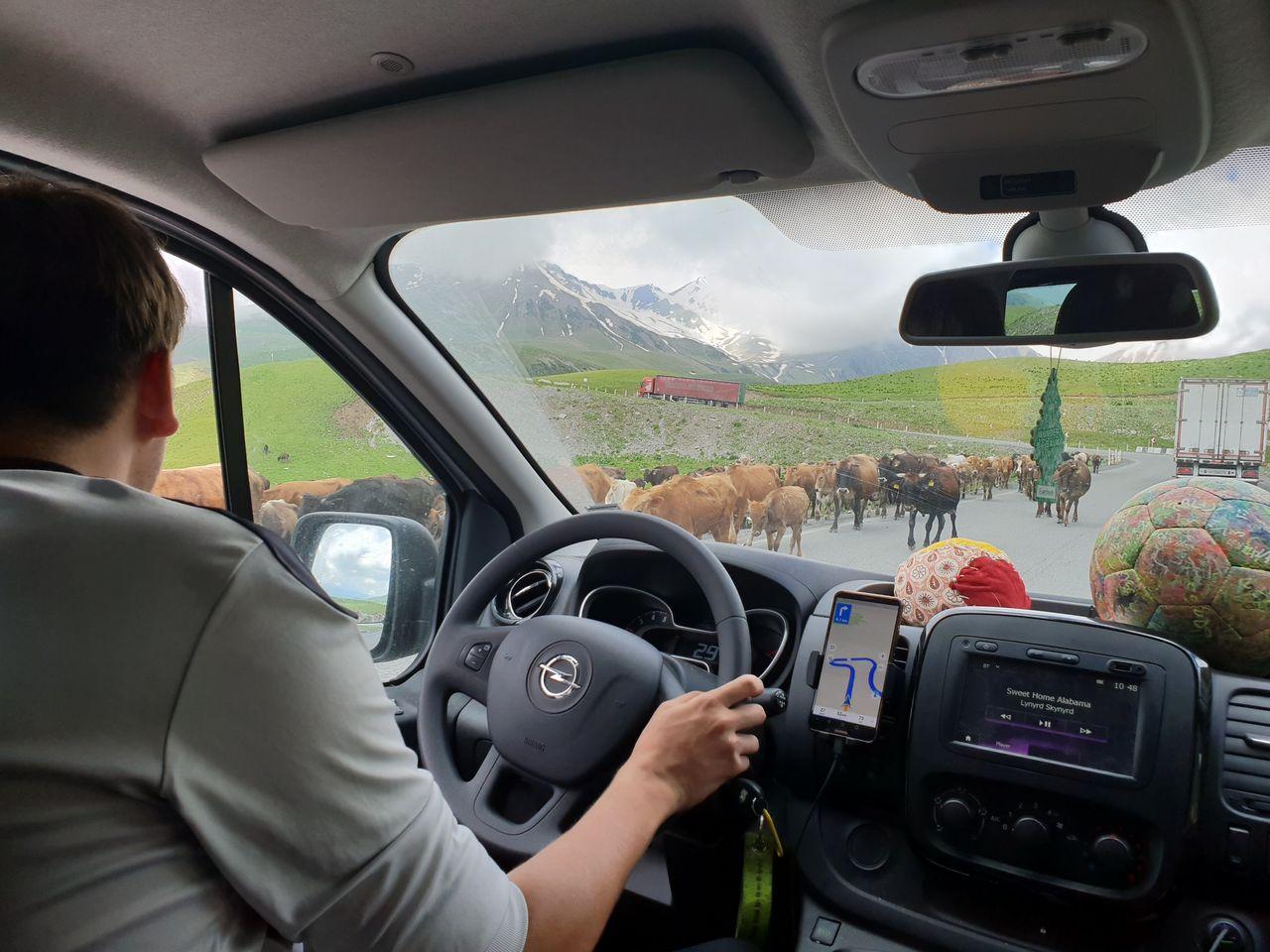 Auf dem Weg durch den Kaukasus
