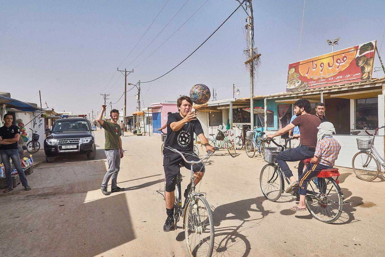Refugee Camp Zaatari in Jordanien