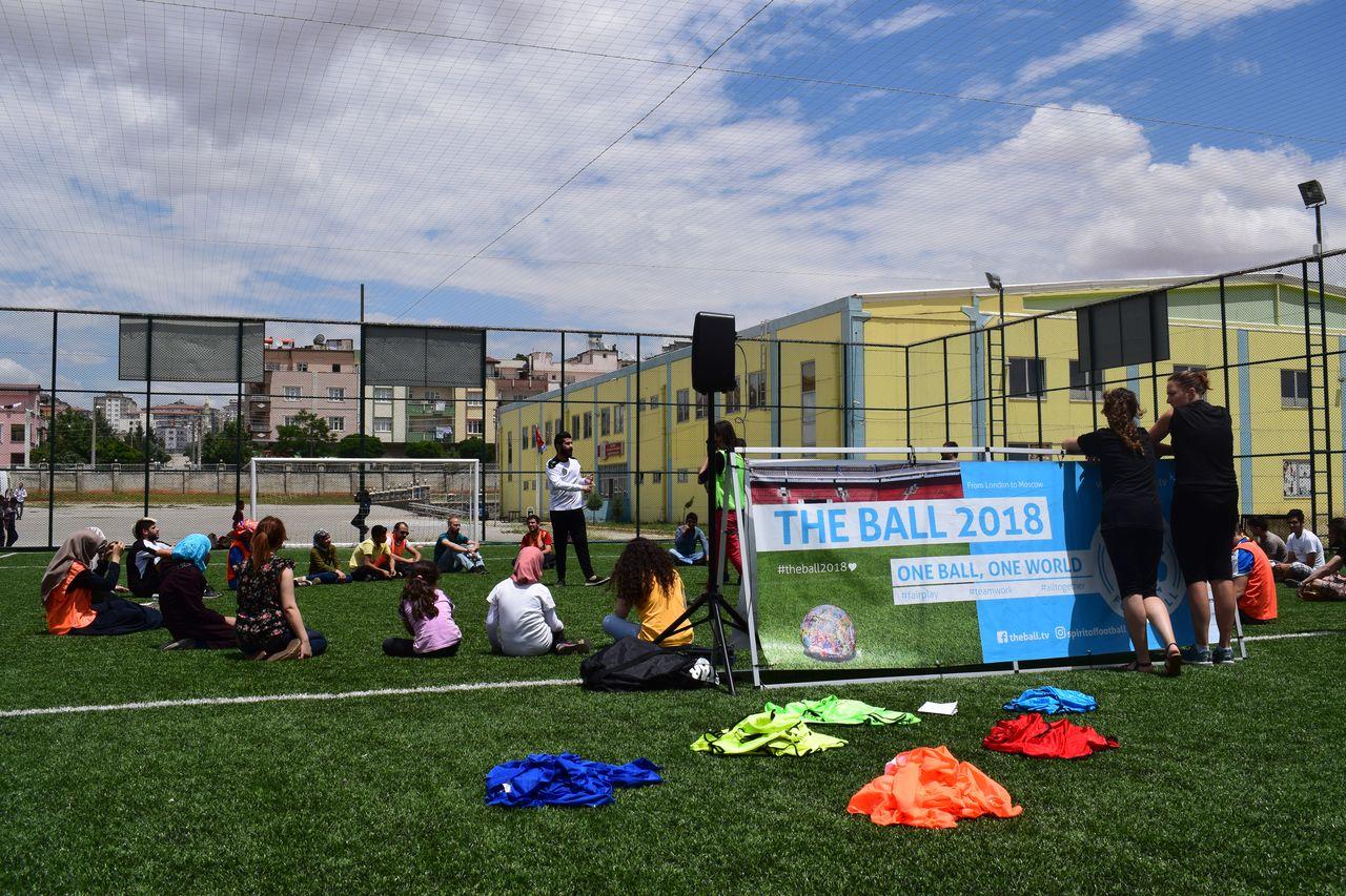 Spirit of Football Workshop mit den Multiplikatoren