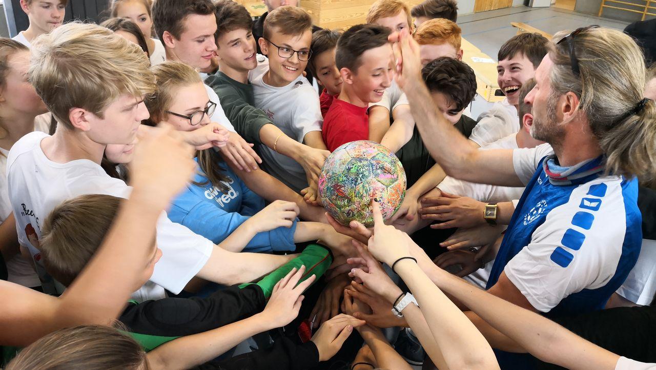 Workshop in der deutschen Schule