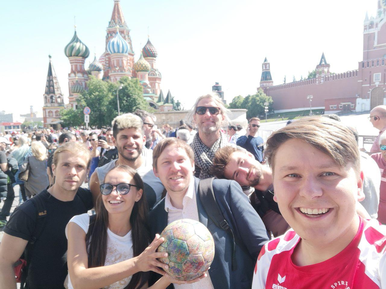 Das Moskau Team: Martin. Anastasia. Joaquin, Konstantin, Andrew, Benny, Benni