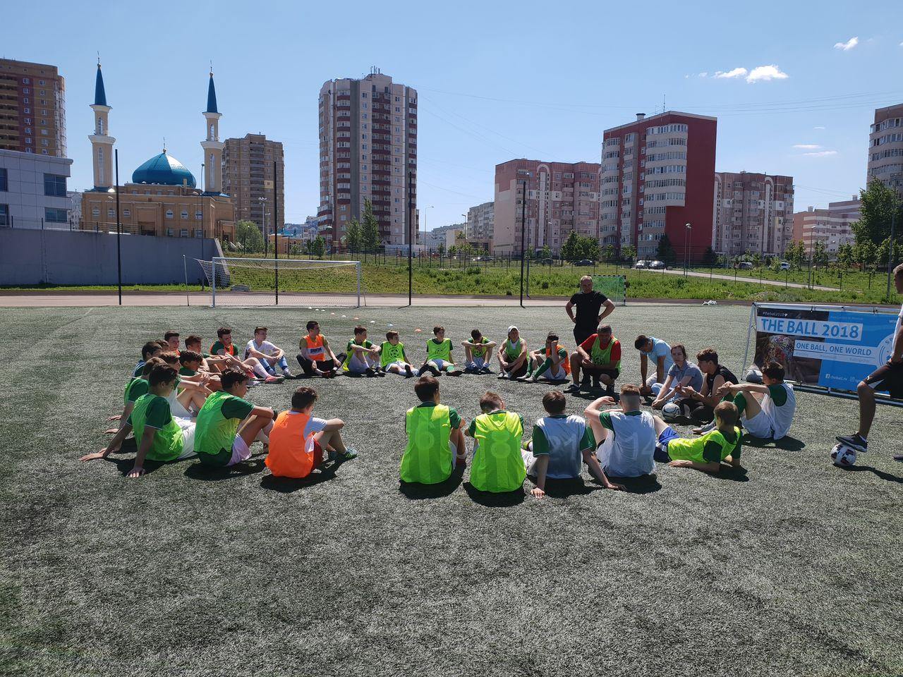 Workshop an der Sportschule