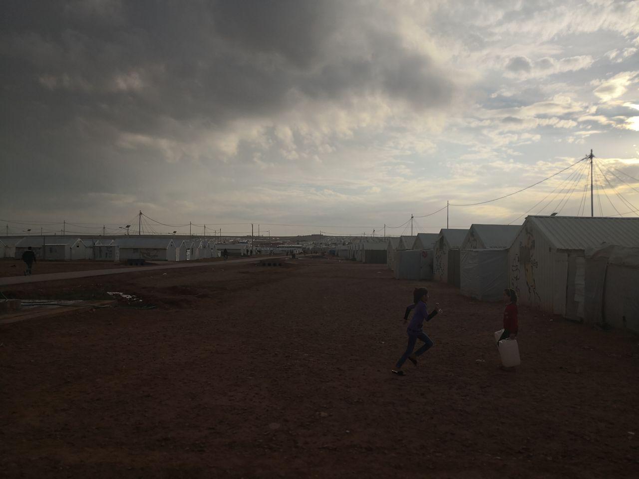 Das Camp Azraq
