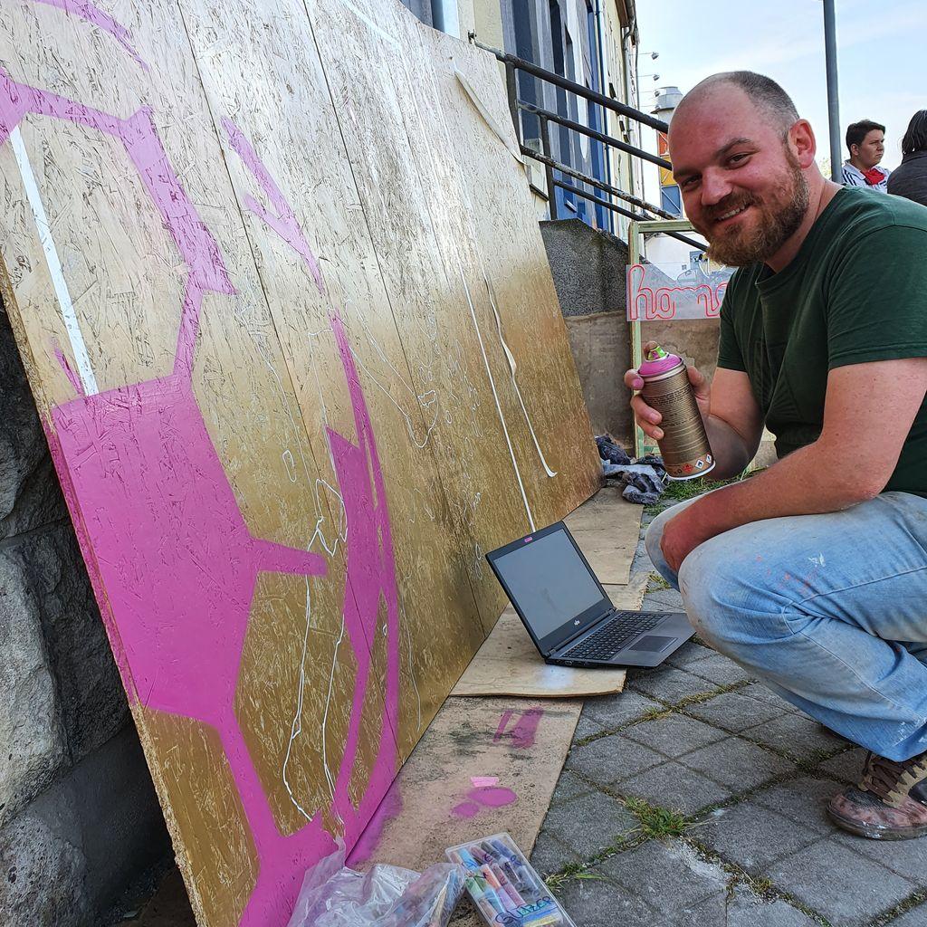 Graffiti-Künstler Sven Messerschmidt