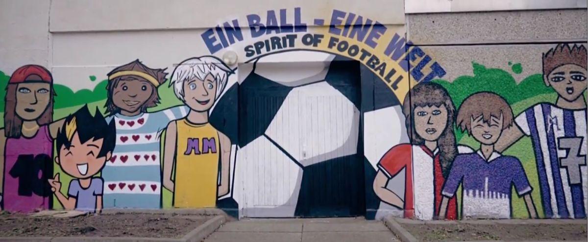 Huttenschule, Ein Ball, Eine Welt, Erfurt