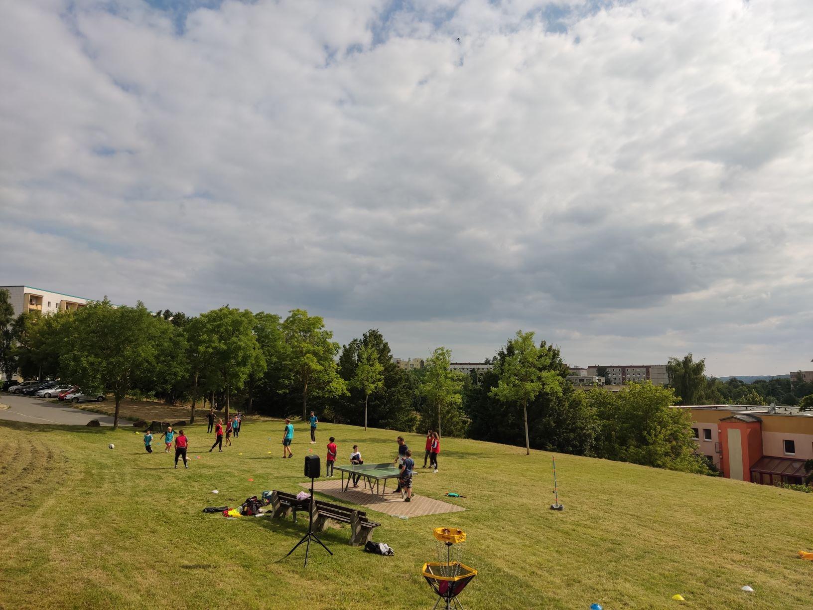 Offenes Sport und Spiel Angebot in Gera
