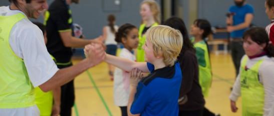 Bei Spirit geht es immer darum den Teilnehmern Fairness, Teamfähigkeit, sowie Toleranz und Rücksichtnahme gegenüber anderen Mitmenschen im Alltag zu vermitteln. Foto: SoF