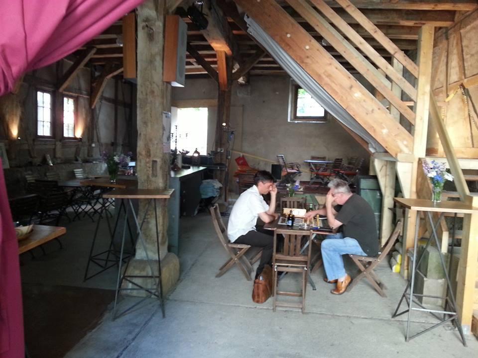 Im Speicher beginnt am Samstag die Vernissage der Wächterhäuser aus Erfurt. Foto: Speicher Erfurt