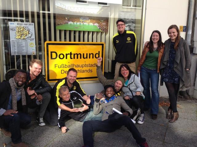 Teamsitzung beim BVB-Lernzentrum. Foto: SoF