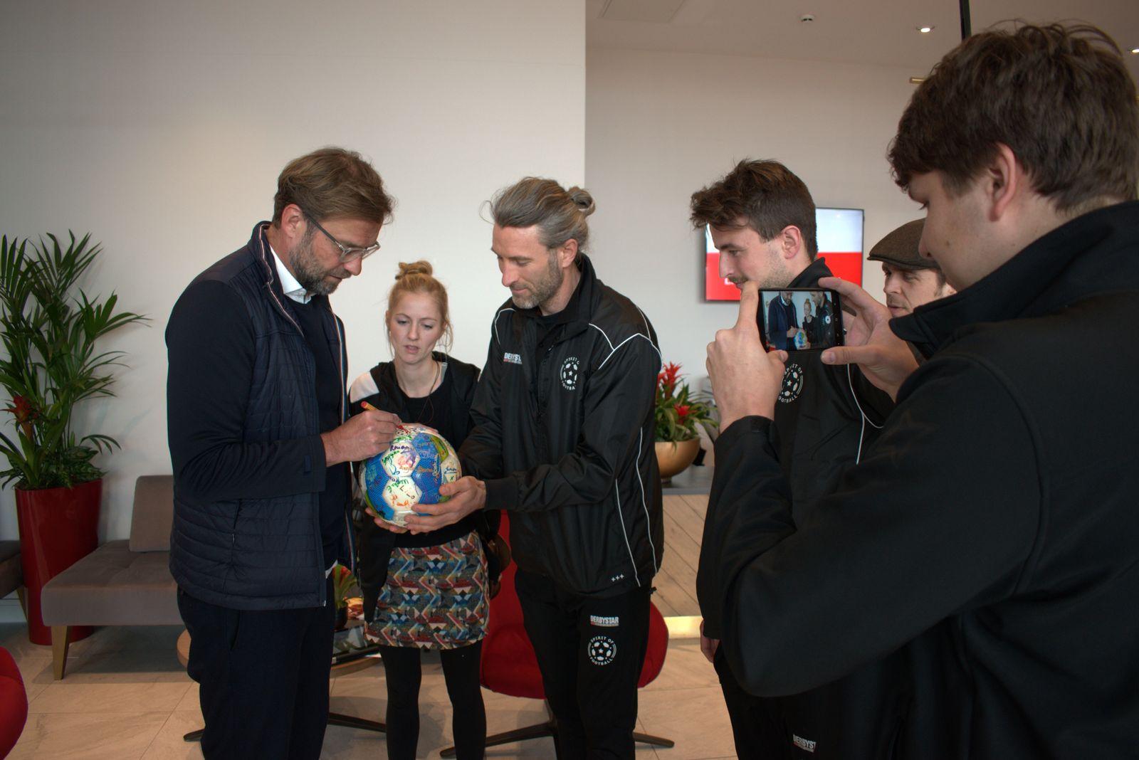 The Ball bei Jürgen Klopp