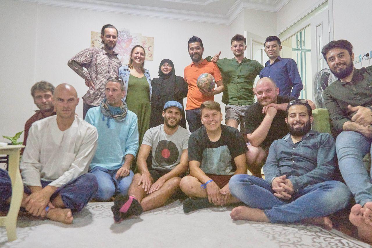 IFTAR mit der Familie von Usama
